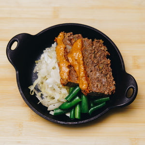 Easy As Pie - Chipotle Lime Meatloaf with Cabbage - Edmonton & Sherwood Park Meal Delivery