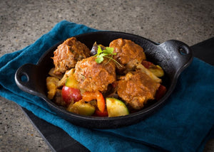 Ratatouille Turkey Meatballs