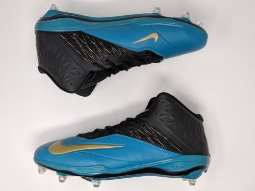 NEW Nike Zoom Code Elite 3/4 D PF Football Detach Cleats Mens Size 14 620501-015 - LoneSole