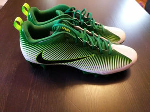 New Nike Vapor Strike 5 TD Football Cleats GREEN WHITE 833407 301 MEN Size 14 - LoneSole