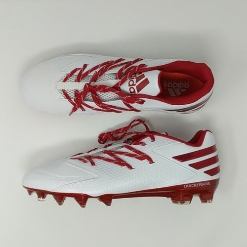 Adidas Freak X Carbon Low Football Cleats QuickFrame D70150 White/Red - LoneSole