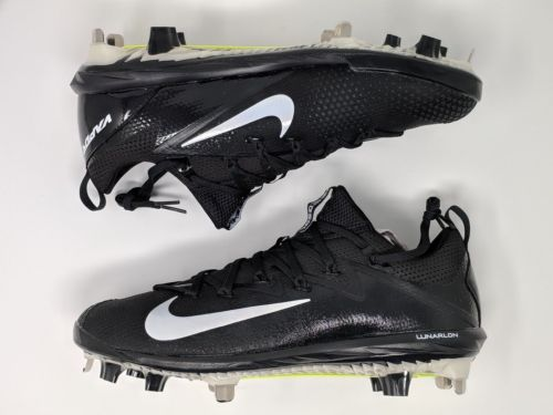 Nike Lunar Vapor Ultrafly Elite Men's Baseball Cleats Black White (852686-010) - LoneSole