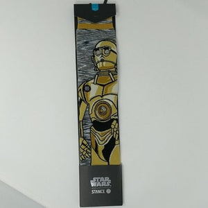 STANCE STAR WARS ANDROID Socks New Return of Jedi Luke Skywalker Size Large 9-12 - LoneSole