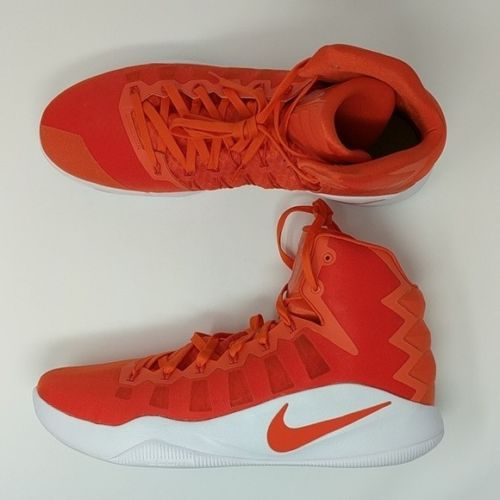 Nike Zoom Hyperdunk TB Promo Basketball Shoes Orange/White 844368-881 Size 17 - LoneSole