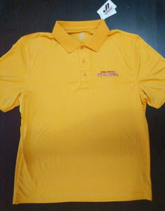 New IOWA STATE CYCLONES ISU Men's Athletic Style Short Sleeve Polo NWT MSRP $40 - LoneSole
