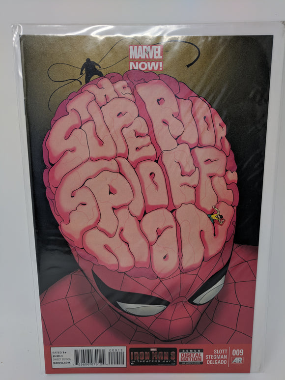 Superior Spider-Man #9 ( 2013 ) Marvel Comic Book VF/NM - LoneSole