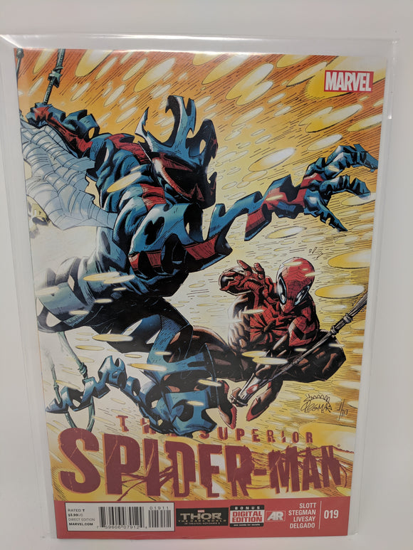Superior Spider-Man #19 ( 2013 ) Marvel Comic Book VF/NM - LoneSole