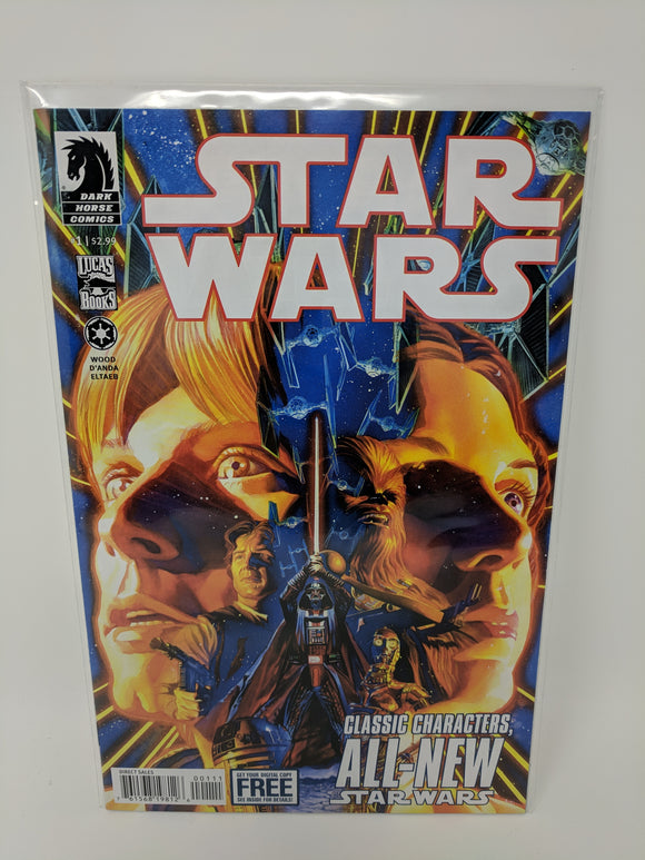 Star Wars (2013) #1 Dark Horse Comics Lucas Draft VF/NM - LoneSole