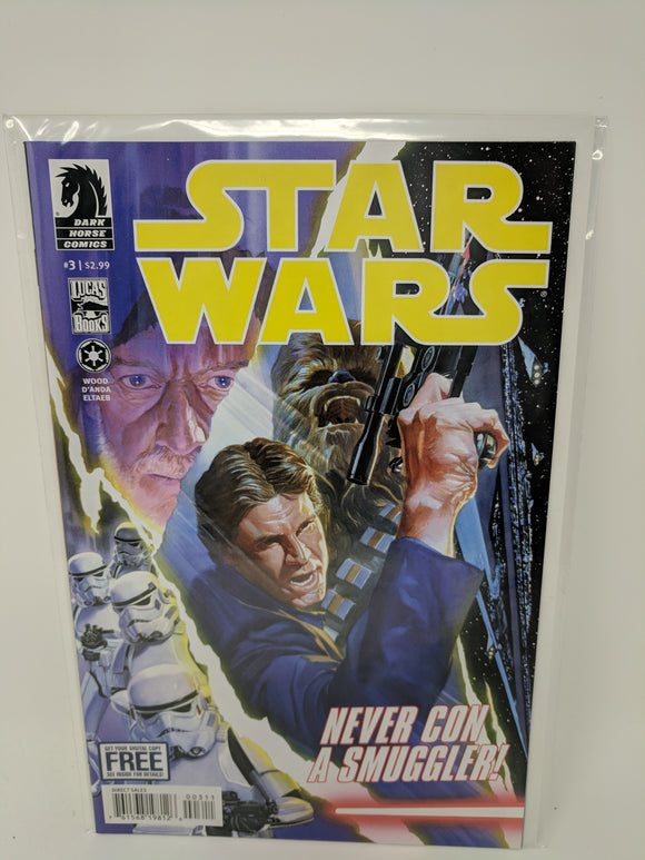 Star Wars (2013) #3 Dark Horse Comics Lucas Draft VF/NM - LoneSole