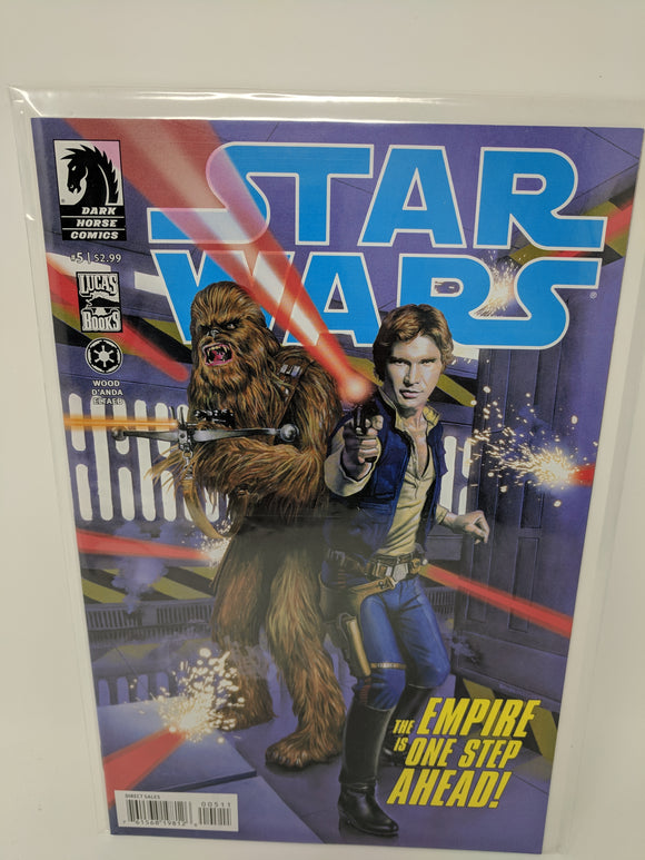 Star Wars (2013) #5 Dark Horse Comics Lucas Draft VF/NM - LoneSole