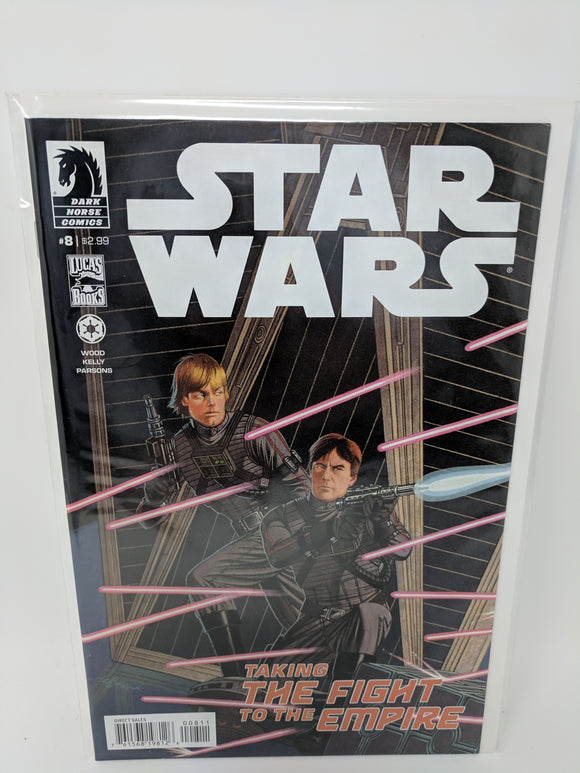 Star Wars (2013) #8 Dark Horse Comics Lucas Draft VF/NM - LoneSole