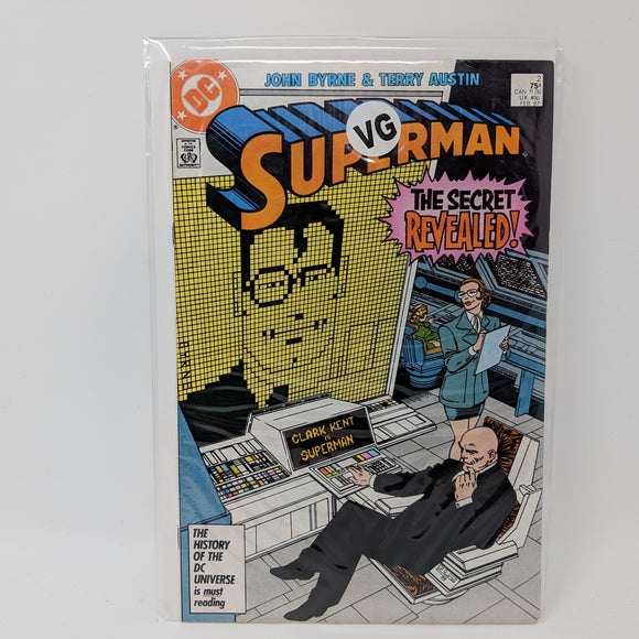 Superman #2 (1987) VG - LoneSole