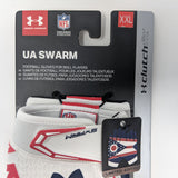 Under Armour UA Swarm Pipeline State Park Football Gloves Men's XXL 1280473-105 - LoneSole