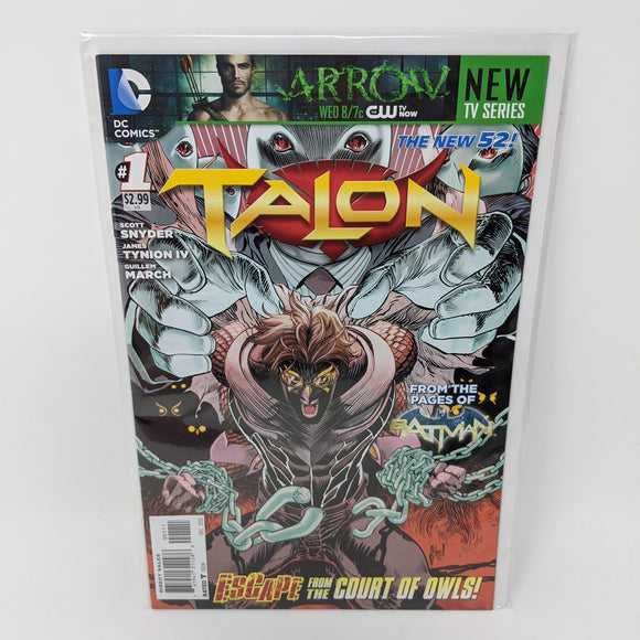 Talon #1 ( 2012-2014 ) DC Comic Book VF/NM - LoneSole