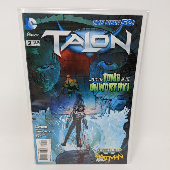 Talon #2 ( 2012-2014 ) DC Comic Book VF/NM - LoneSole