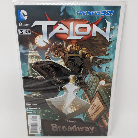 Talon #3 ( 2012-2014 ) DC Comic Book VF/NM - LoneSole