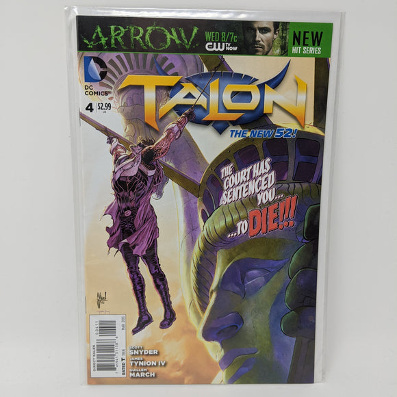 Talon #4 ( 2012-2014 ) DC Comic Book VF/NM - LoneSole