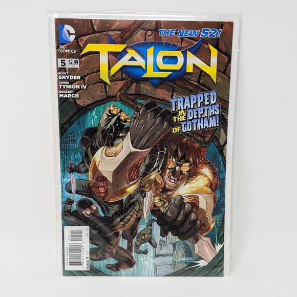 Talon #5 ( 2012-2014 ) DC Comic Book VF/NM - LoneSole