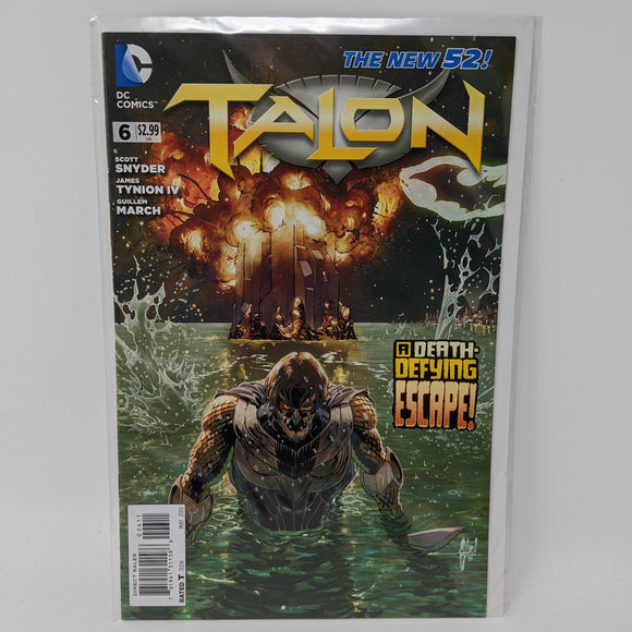 Talon #6 ( 2012-2014 ) DC Comic Book VF/NM - LoneSole