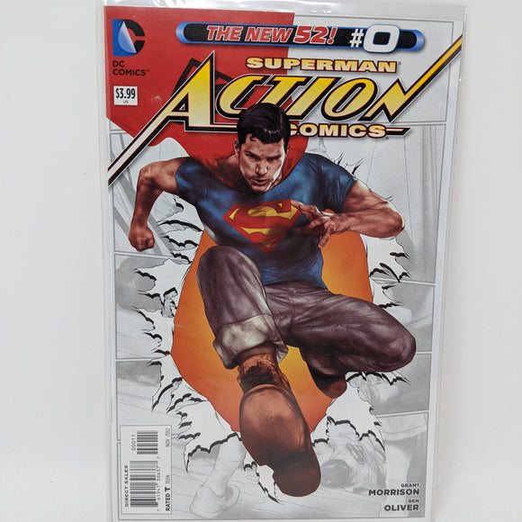 Action Comics #0A ( 2011-2016 ) DC Comic Book VF/NM - LoneSole