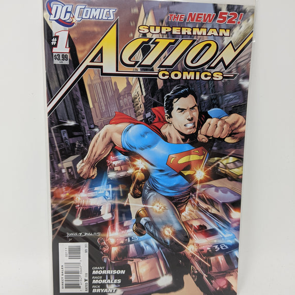 Action Comics #1B ( 2011-2016 ) DC Comic Book VF/NM - LoneSole