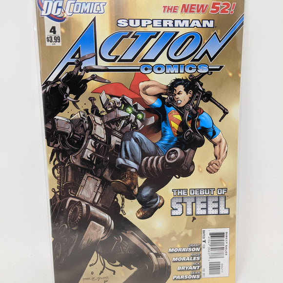 Action Comics #4A ( 2011-2016 ) DC Comic Book VF/NM - LoneSole
