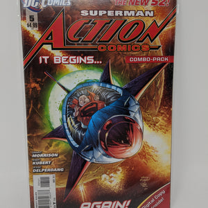 Action Comics #5D ( 2011-2016 ) DC Comic Book VF/NM - LoneSole
