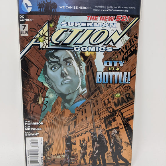 Action Comics #7A ( 2011-2016 ) DC Comic Book VF/NM - LoneSole