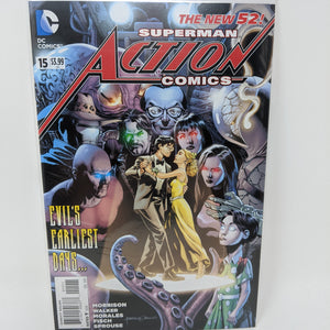 Action Comics #15A ( 2011-2016 ) DC Comic Book VF/NM - LoneSole