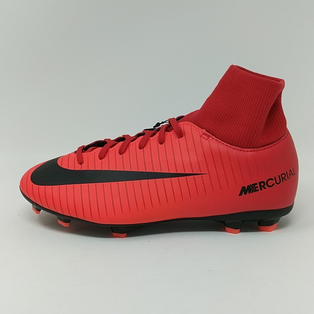 coupon code latest fashion nice cheap Nike JR Mercurial Victory VI DF FG Soccer Cleats Youth Kids Sz 5Y 903600-616