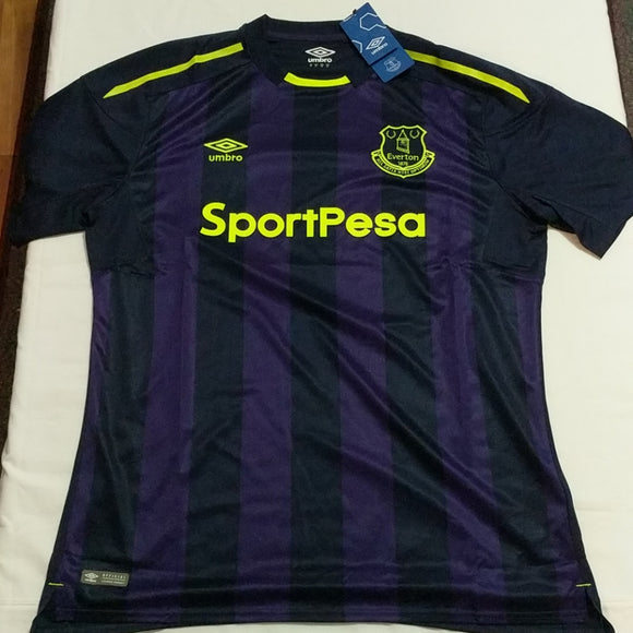 Umbro Everton FC 2017 / 2018 Soccer Jersey Mens Sz XL New - LoneSole