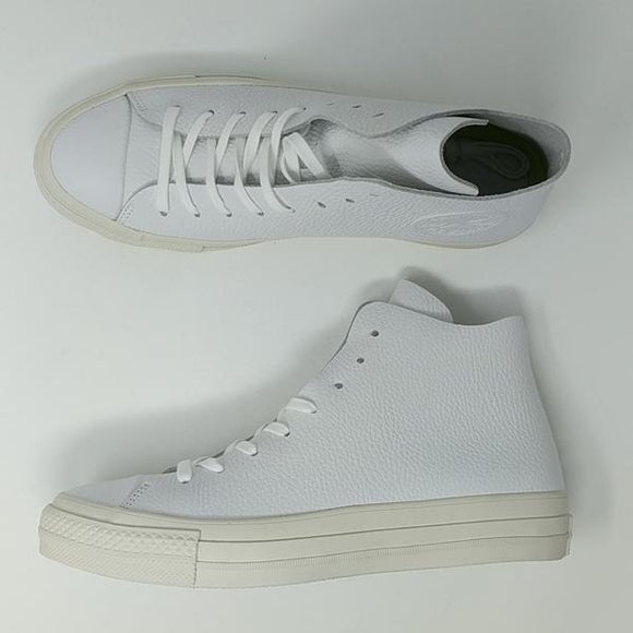 Converse Chuck Taylor All Star CTAS Prime High White Cream ( 154837C ) New - LoneSole