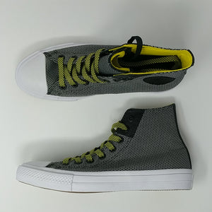 Converse CTAS II Hi Chuck Taylor Mens Sz 7.5 Shoes Black White Yellow 155536C - LoneSole