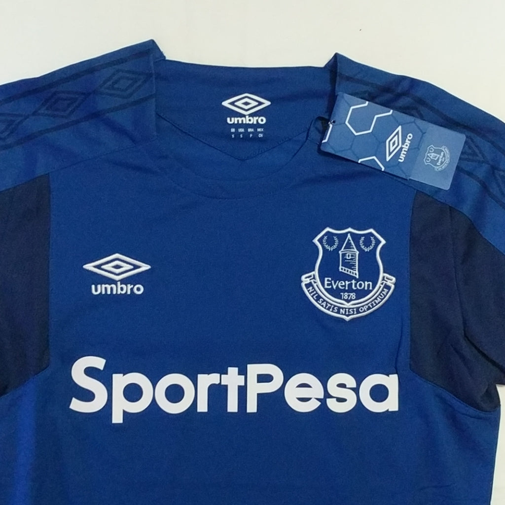 uk availability 804ee 23f0d Umbro Everton FC 2017 / 2018 Blue Soccer Jersey Sz Small New