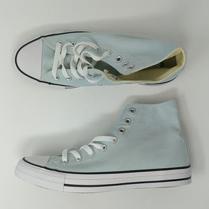 Converse Chunk Taylor All Star Hi Blue Shoes Size 8 New 153865F - LoneSole