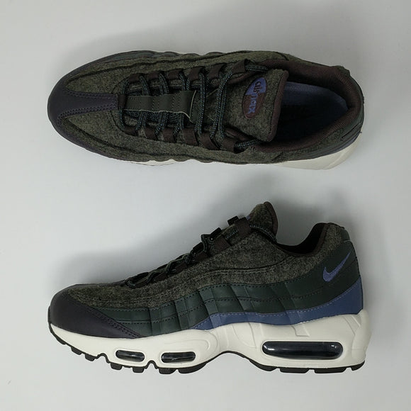 Nike Air Max 95 Premium (538416-300) Sequoia Light Carbon Mens New - LoneSole