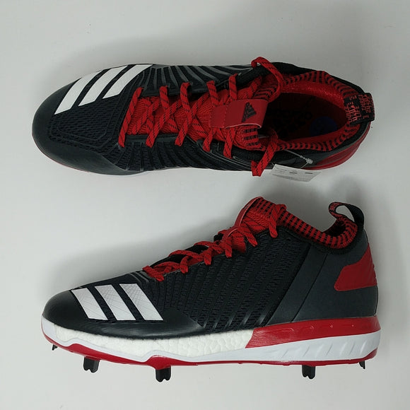 Adidas Energy Boost Icon 3 Men's Size 11.5 Metal Baseball Cleats B39161 Red - LoneSole