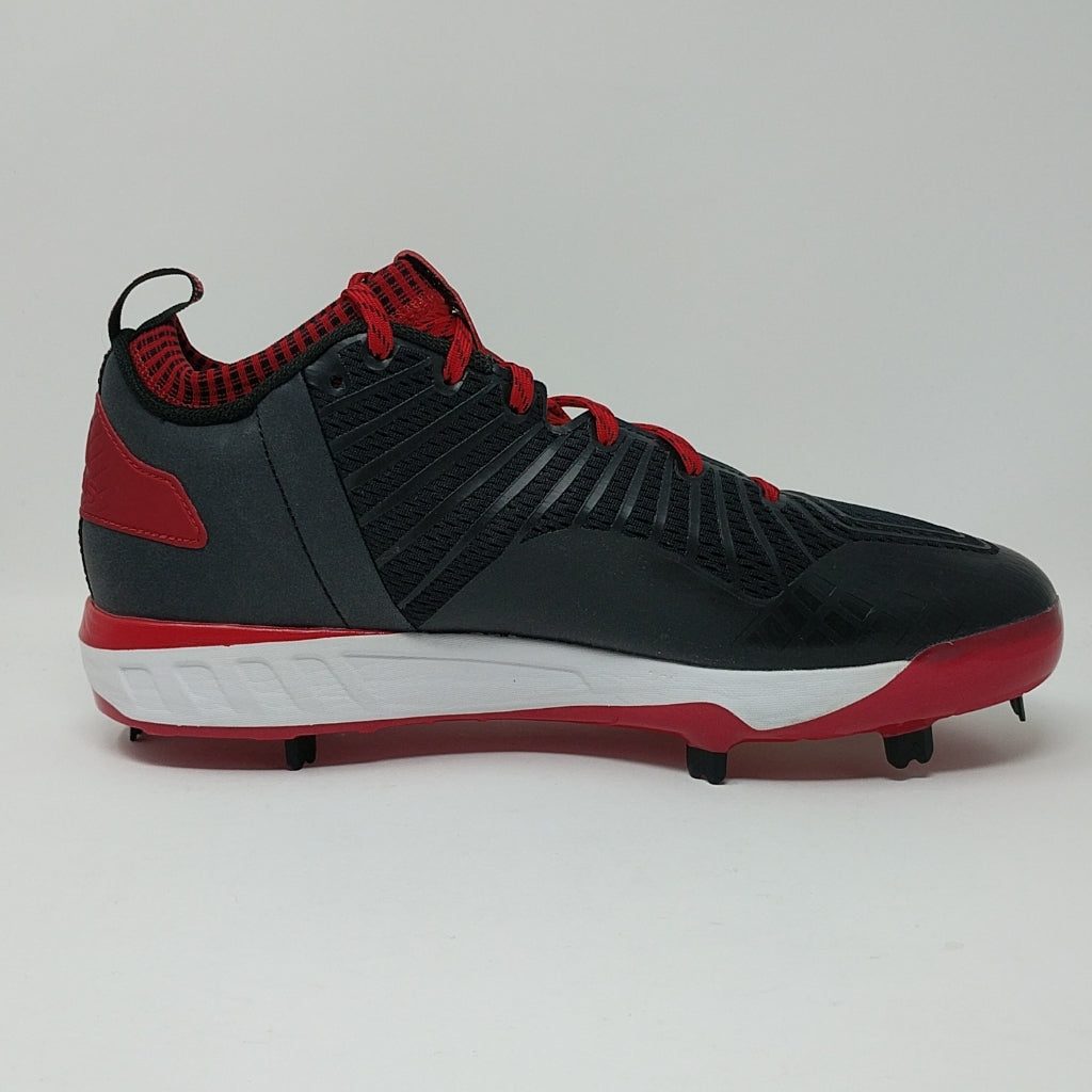 newest 78aa4 b7616 ... Adidas Energy Boost Icon 3 Men's Size 11.5 Metal Baseball Cleats B39161  Red - LoneSole ...