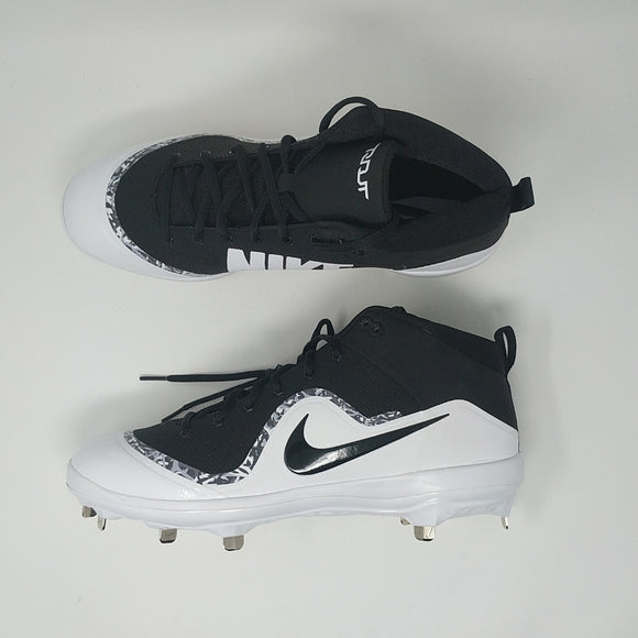 best website 0872c 0a881 Nike Force Air Trout 4 Pro 917920-001 Mid Baseball Cleats New Size 12