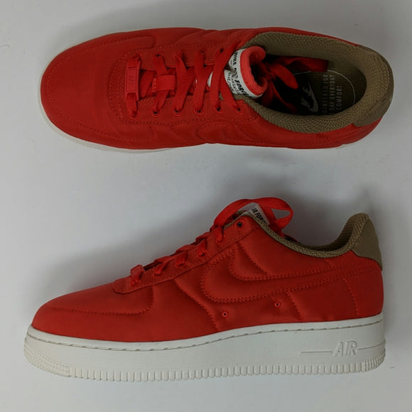Nike Air Force 1 '07 LX Women's Shoes 898889 600 Habanero Red Premium AF1 - LoneSole