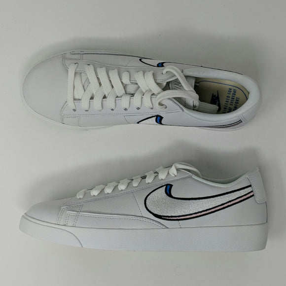 Nike Classic Blazer Low Womens Sneakers White AV9371-101 New - LoneSole