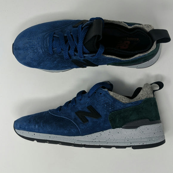 New Balance M997HC2 Made In USA Men's Size 7.5 Blue Green Gray Woolrich - LoneSole