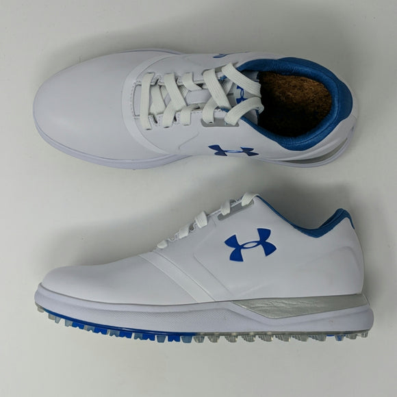 Under Armour 1297176-141 Womens UA Performance Spikeless Golf Shoes White - LoneSole