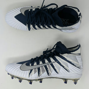 NIKE Alpha Menace Elite Football Cleats 877141-401 Navy New - LoneSole