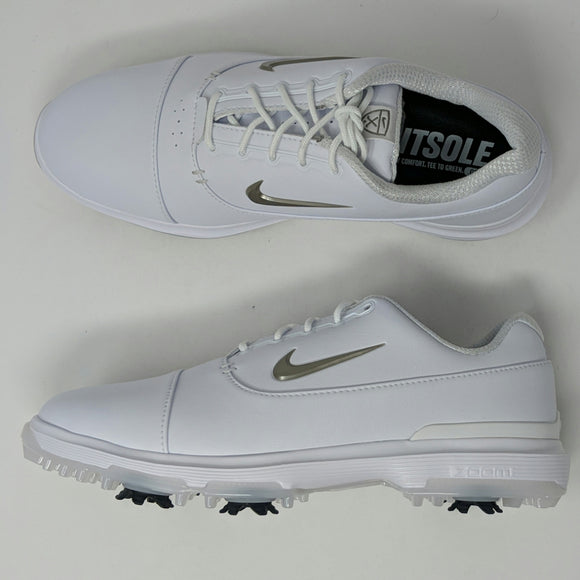 Nike Air Zoom Victory Pro Mens Golf Shoes White Black AR5577 100 New