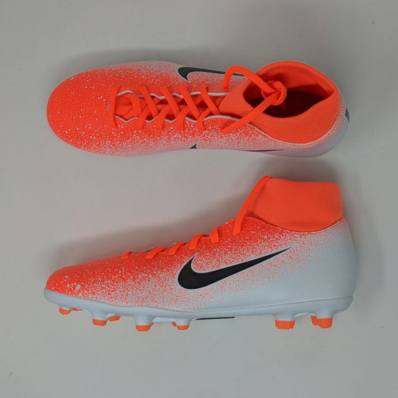 Nike Superfly 6 Club FG MG Men Soccer Cleats Hyper Crimson AH7363-801 New - LoneSole