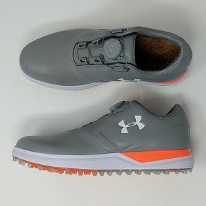 Under Armour Performance BOA Golf Shoes Womens Sz 8.5 New 1299943-036 - LoneSole