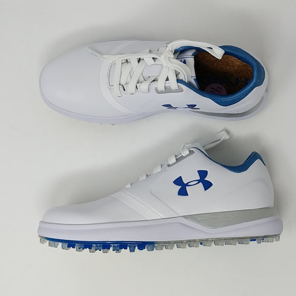 Under Armour Performance Golf Shoes Womens Sz 5.5 New 1297176-141 - LoneSole