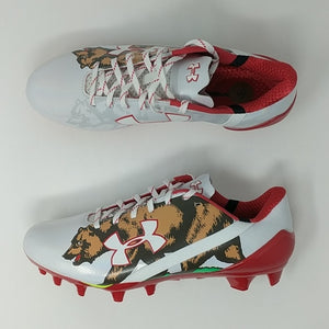 Under Armour Spotlight LE California Football Cleats Bear SZ ( 1275481-130 ) - LoneSole