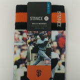 STANCE WILLIE MCCOVEY COVE SOCKS MLB LEGENDS COLLECTION Mens Sz S/M & Sz L/XL - LoneSole